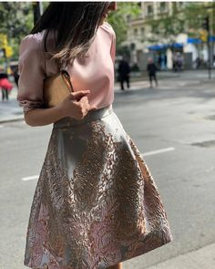 Beautiful outfits🌸🌹 by Crop Top Outfits, Skirt Outfits, Chic Outfits, Dress Skirt, Modest Fashion, Fashion Dresses, Sunday Outfits, Queen Dress, Moda Casual