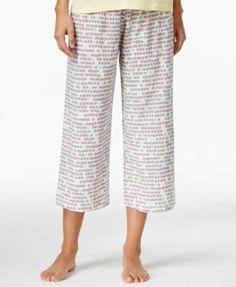 Hue Printed Capri Pajama Pants - Bras, Panties & Shapewear - Women - Macy's