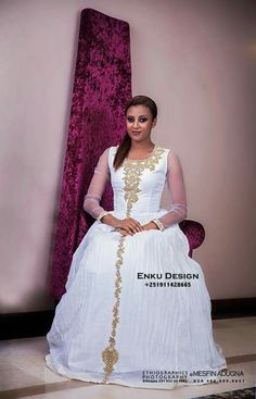 Handmade artisan blue embroidered habesha cultural for Ethiopian traditional wedding dress designer