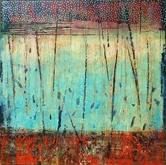 starry night debra corbett - love the colors in this! Modern Art, Contemporary Art, Painting Inspiration, Journal Inspiration, Online Art Gallery, Love Art, Amazing Art, Art Photography, Street Art