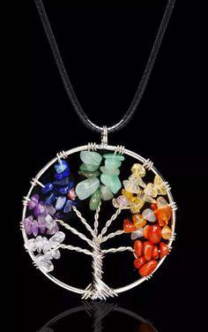 Un preferito personale dal mio negozio Etsy https://www.etsy.com/it/listing/516703235/life-tree-reiki-chackra-pendant-natural
