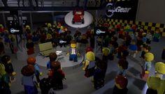 Cars - Vidéo : Top Gear BBC en LEGO ! - http://lesvoitures.fr/video-top-gear-bbc-lego-teaser/