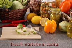 trucchi in cucina Sweet Recipes, Healthy Recipes, Bread Cake, Kitchen Hacks, Creative Food, Food Hacks, Cooking Tips, Pasta, Helpful Hints