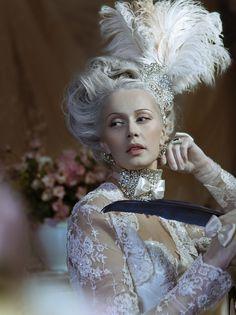 """""""Lorange Rococo"""" by Elena Esaulova Hair: Victoria Panafidina Photography: Andrew Kitsen"""
