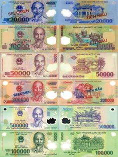 Vietnamese currency called the Vietnamese dong.It is the National currency of Vietnam.It was put into order May third it still is the currency of Vietnam today. Vietnam Travel, Asia Travel, Vietnam Vacation, Travel Tips, Vietnamese Dong, The Color Of Money, Money Notes, Money Bill, Canadian Coins
