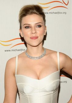 Actress Scarlett Johansson attends 'The A Funny Thing Happened on the Way' to Cure Parkinson's benefit for the Michael J. Fox Foundation at the Sheraton New York Hotel and Towers on November 5, 2008 in New York City