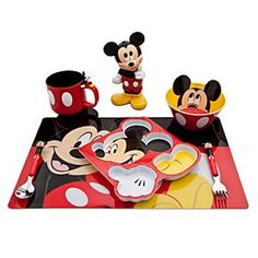 Mickey Mouse meal set