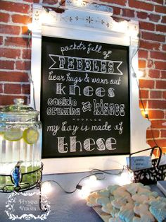 It's a Boy! - Baby Shower Ideas | Hymns and Verses #babyshower
