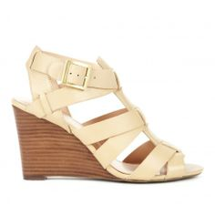 Ingrid cut out wedge - Cuban Sand