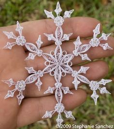 All Things Paper: Snowflakes in July