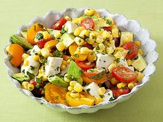 Aida's Corn, Tomato and Avocado Salad from FoodNetwork.com