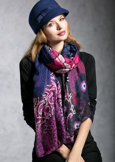 Fifi Hat & Lotoya Scarf. Check out www.handbagheavenwithpaula.com for gorgeous merchandise from Pia Rossini.