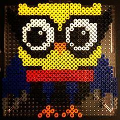 Wolverine owl perler beads by crzymothatruka