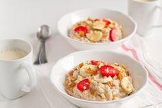 Oatmeal (gachas de avena) | http://www.danzadefogones.com/oatmeal-gachas-de-avena/