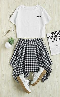 Be happy everyday! Be happy everyday! Source by andreafigueroam outfits verano Girls Fashion Clothes, Teen Fashion Outfits, Outfits For Teens, Summer Outfits, Teen Clothing, Sporty Fashion, Ski Fashion, Clothing Stores, Winter Fashion