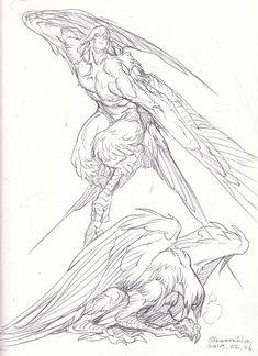 Call me Deerchip. Mythical Creatures Art, Mythological Creatures, Fantasy Creatures, Fantasy Character Design, Character Design Inspiration, Character Art, Creature Feature, Creature Design, Creature Concept Art
