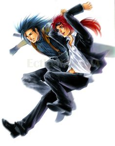 Zack & Reno. I would rather see one of Axel and Reno.