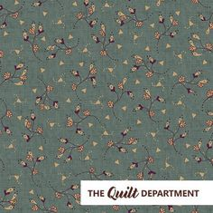 Vintage Farmhouse fabric HEG6227-11 by Kim Diehl - The Quilt Department