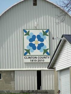 Clinton County Ohio Barn Quilt Geotrail | A Heart Full of Love