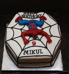 pinterest everything   Pin Spiderman Cake Everything Else Is Cake on Pinterest