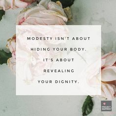 10 Truths About Modesty
