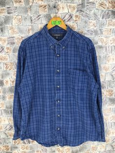 Excited to share the latest addition to my #etsy shop: Croft Barrow Oxford Shirt Large Vintage 90s Flannel Buttondown Checkered Plaid Flannel Blue Button Up Size L #weddingflannel #womenflannel #blueoxfordsshirt #bluebuttondown #vintageflannel #rusticflannel #checkedblueflannel #bohoflannel #menoxfordslarge