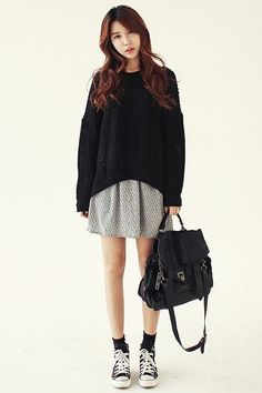 Korean Fashion   Ulzzang Girl