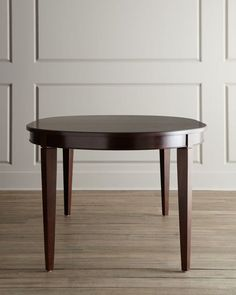 """HCF17_H59J7  Made of ribbon-stripe mahogany and select hardwoods. Includes two 18""""W leaves. 68""""L x 44""""W x 30""""T; 104""""L with both leaves inserted.  Read more at http://www.horchow.com/Allerton-Dining-Room-Furniture/cprod113900010/p.prod#x7ljFj5ybkW8rT57.99"""