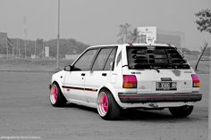 https://www.facebook.com/fastlanetees   The place for JDM Tees, pics, vids, memes & More  THX for the support ;) Toyota Starlet EP71 rat style