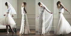 Brautkleider gibt's auch günstig. Diese 50 zauberhaften Kleider lassen jede Braut auch mit kleinem Budget wunderschön aussehen.