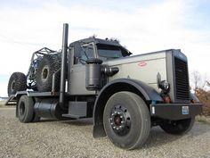 big black big rig #bigrigs