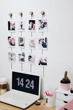 video 4 diy com fotos inspirados no pinterest e no tumblr para decorar sua casa28