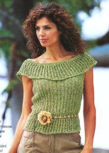 blusas tejidas en crochet imagenes - Buscar con Google
