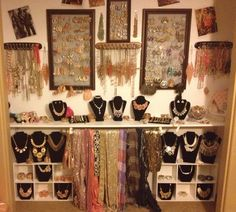 """Could work in a closet.  I love having everything together but too """"busy"""" in the middle of the room."""