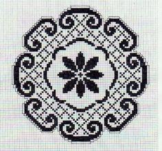 Filet Crochet, Crochet Doilies, Crochet Lace, Folk Embroidery, Cross Stitch Patterns, Diy And Crafts, Kids Rugs, Pillows, Projects