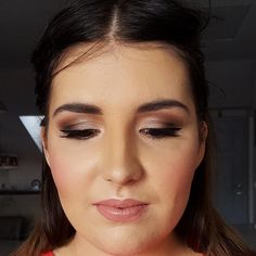 LOVE THIS MAKEUP LOOK Face - MAC Prep and Prime primer, MAC Studio Fix Fluid foundation, MAC Studio Fix powder, MAC concealer, URBAN DECAY concealer, MAC Pink Swoon and Rosy Outlook blush, THE BALM Mary-Lou Manizer highlighter. Eyes - TOO FACED eyeshadow insurance, MAC soft brown, cork, handwritten, satin taupe and naked lunch. Eyelashes - Red Cherry. Eyebrows - MAC Stud eyebrow pencil. Lips - MAC Rosy Rim lip liner, Viva Glam II and Pure Zen lipsticks.  #m...