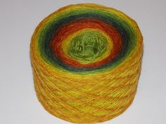 Kauni Fall 100% Quality PURE Lambswool yarn, 100g for hand and machine knitting. Made in Estonia for 12.74