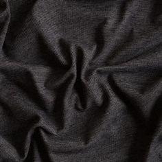 Black/White Hairline Striped Stretch Jersey Knit