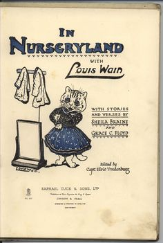 "Louis Wain, for ""IN NURSERYLAND"""