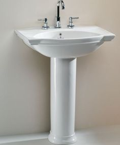 Fountain direct has the biggest inventory of bathroom solutions in UK. Buy Silverdale Damea Basin with Full Pedestal. Bathroom Basin Taps, Traditional Baths, Led Manufacturers, Pedestal, Sink, Stuff To Buy, Shopping, Home Decor, Traditional Hot Tubs
