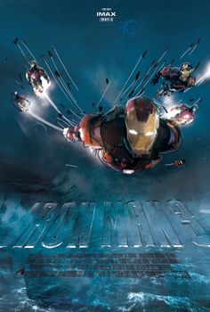 Proposed IMAX Iron Man poster (no. 8) /// by comic book artist Jock