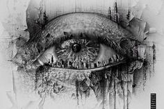 Eyescape by Danielle Tunstall. She does horror photography and I absolutely love her work.