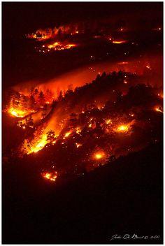 Hills Of Fire - Golden - Colorado - USA
