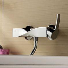 bestreuen  vonverchromt einzigen Handgriff Wandmontage Dusche Wasserhahn