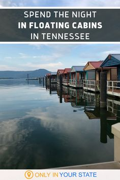 Spending the night in a floating cabin on beautiful Nickajack Lake in Tennessee. This gem near Chattanooga is perfect for a family vacation on the water or romantic getaway with stunning sunset views from your private porch. Upgrade from camping to glamping and add this destination to your summer travel bucket list. Vacation Places, Vacation Destinations, Dream Vacations, Vacation Spots, Places To Travel, New Travel, Future Travel, Summer Travel, Travel Usa