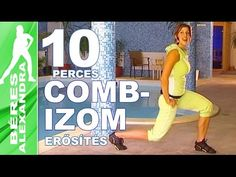 Béres Alexandra - Farizom és combizom edzése (Fitt-térítők sorozat) - YouTube Gym Video, Zumba, Excercise, Pilates, Lose Weight, Legs, Workout, Fitness, Youtube
