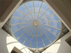 Residential in Greece with skylight project. Construction without silicon. 10 years guarantee. www.glazetech.gr