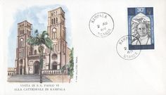 Pope Paul VI Visit East Africa Issue Cathedral 1969
