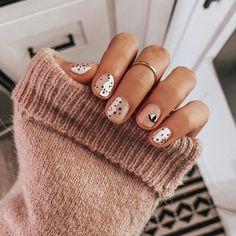 Nails | Nagels | Short | Kort | Nail Art | Nail Plolish | Wh