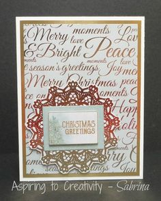 Aspiring to Creativity: Kaisercraft Christmas Wishes - Last Minute Cards 2 Christmas Wishes, Before Christmas, Christmas Cards, Beautiful Handmade Cards, Last Minute, Flourish, Creativity, Merry, Paper Crafts